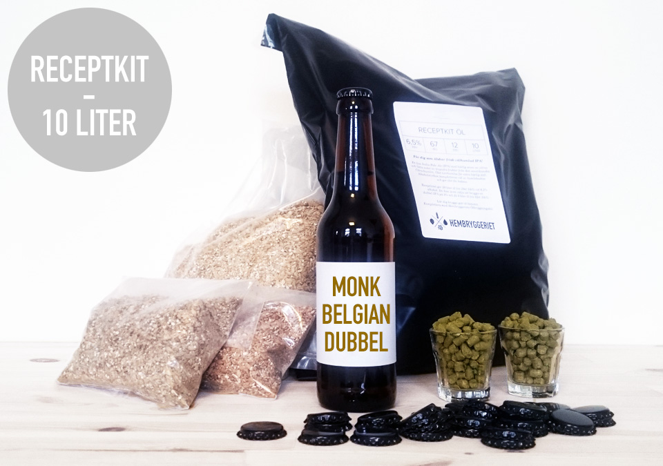 Monk Belgian Dubbel 7% Recipe Kit 10L