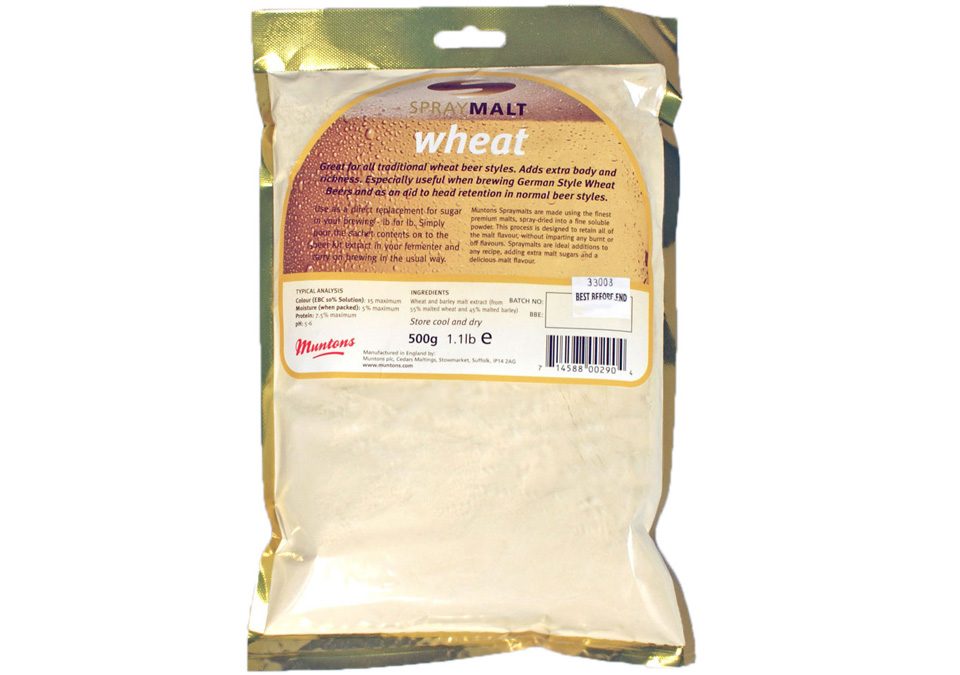 Muntons Spraymalt Wheat 500g