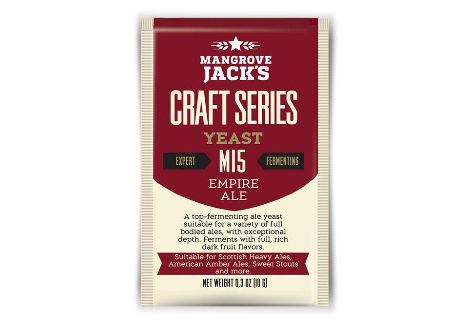 Mangrove Jack's M15 Empire Ale Yeast 10g