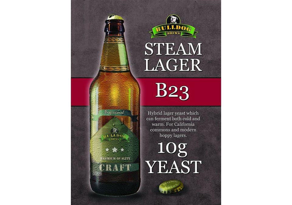 Bulldog B23 Steam Lager Yeast 10g