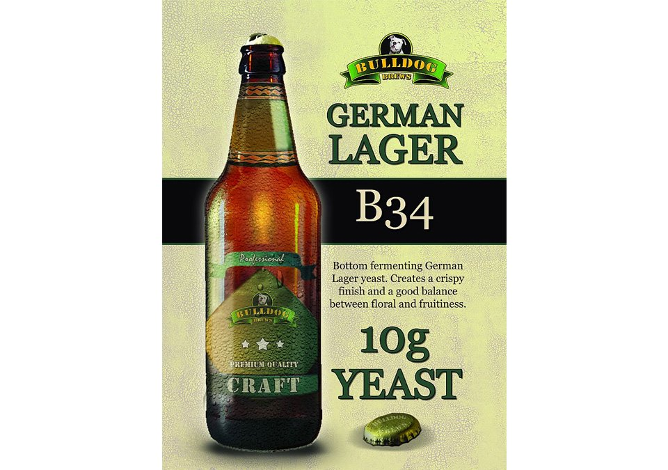 Bulldog B34 German Lager Yeast 10g