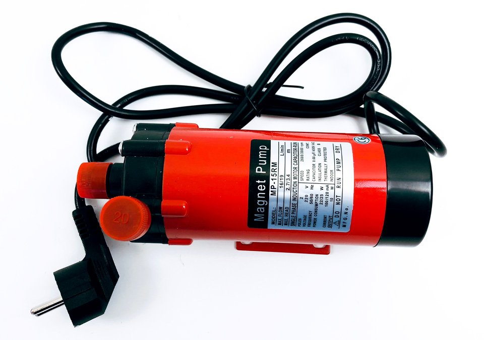 Magnetic Pump MP-15RM Plastic Head