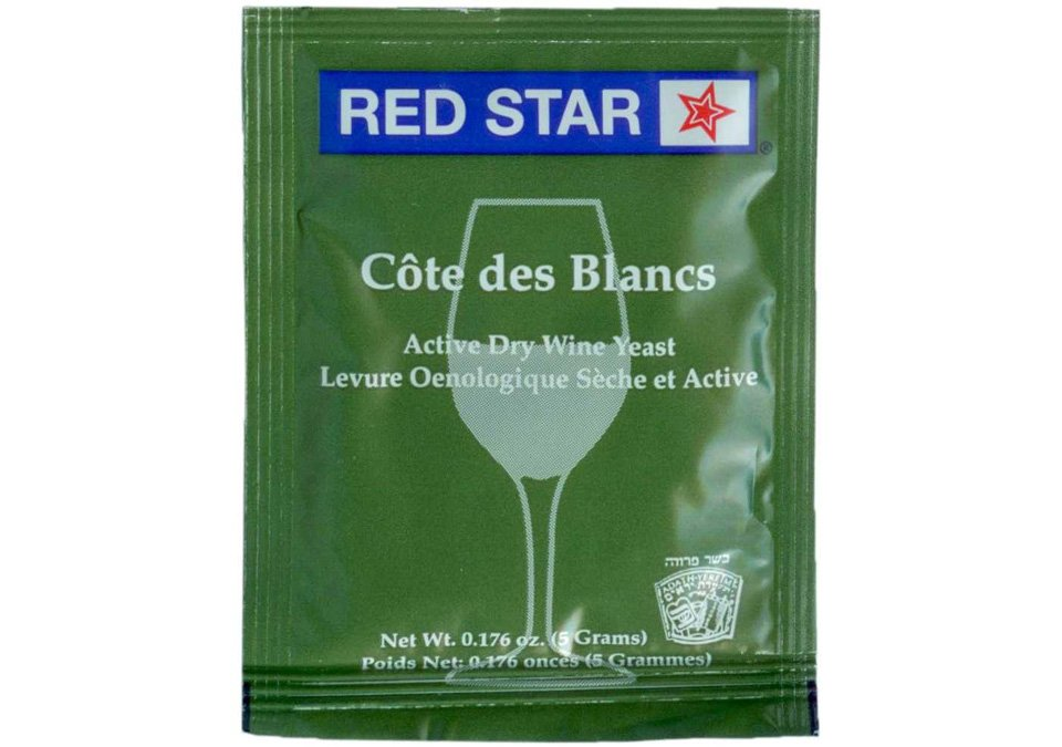 Red Star Côte des Blancs Wine Yeast 5g