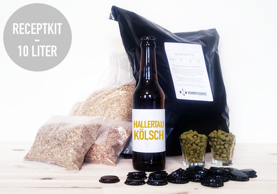 Hallertau Kölsch 5% Recipe Kit