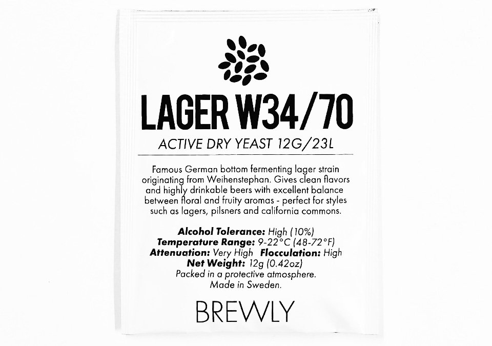 Brewly Lager W34/70 Yeast