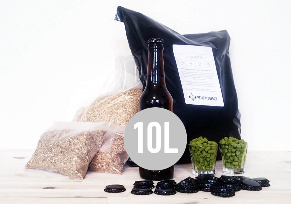 Bourbon Oak Stout 6,5% Recipe Kit 10L