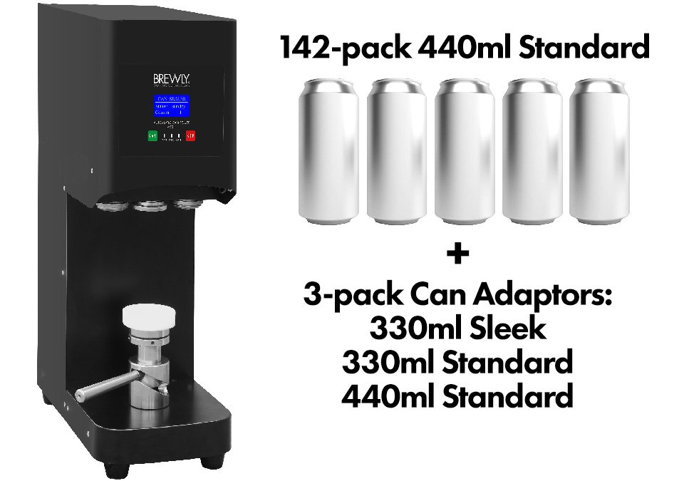 Brewly ACS-1 Automatic Can Sealer - Can Kit 3