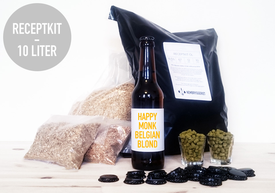 Happy Monk Belgian Blond Receptkit